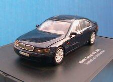 BMW 7ER GROUP IAA 2001 MINICHAMPS 1/43 LIMOUSINE SALOON BERLINE BLEU FONCE BLAU