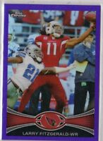 2012 Topps Chrome Purple Refractor - LARRY FITZGERALD #141 - Cardinals /499