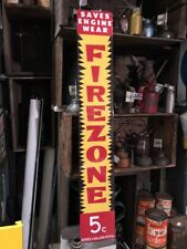 Firezone Sign Repro Alucabond