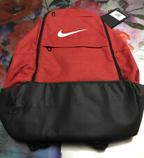 New With Tags Nike Brasilia Backpack Red/ Black / White Size XL