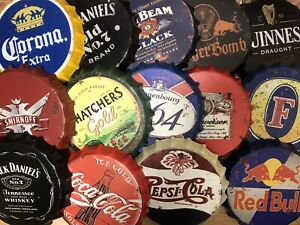 Vintage Retro Hanging Bottle Top 30cm Memorabilia For Man Cave Garage Bar Club