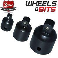 NEUF 3 pièces AIR IMPACT convertisseur Set outil réducteur adaptateur Prise 3/8