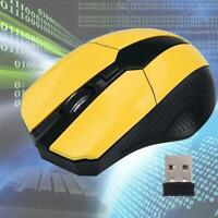 2.4Ghz Optical Wireless Mouse USB Portable Computer Mice Laptop Game Sale