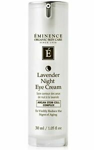 Eminence Lavender Night Eye Cream 1.5oz / 30ml FREE SHIPPING!