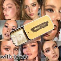 Langlebige 3D Feathery Augenbrauen Cream Brow Styling Soap+ Brush Fixed Gel Set