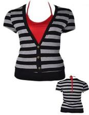 Striped Rayon Blouses for Women