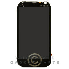 LCD Digitizer Frame Assembly With Mic Flex Cable for HTC Sensation 4G Black