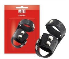 MOI Amsterdam Double Trooper Parachute C-ring/Ball Stretcher/Divider PU Leather