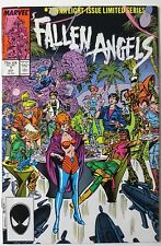 Fallen Angels #7 (Oct 1987, Marvel) Limited Series (C3844)