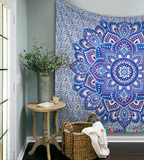 Most Wanted Lotus Mandala Home Decor Tapestry Ethnic Throw 100% Cotton Bed Cover