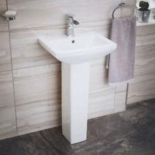 Square Pedestal Home Bathroom Sinks