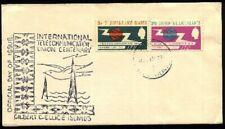 GILBERT & ELLICE IS 1965 ITU set on commem FDC.............................94424