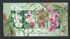 AUSTRALIA 1998 Australia-Singapore Joint Issue Orchids Minisheet MNH (SG MS1804)