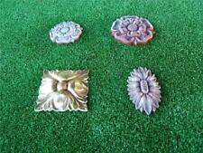 4 Rose Flower Emblem MOULDS MOLD Mould Garden Decor