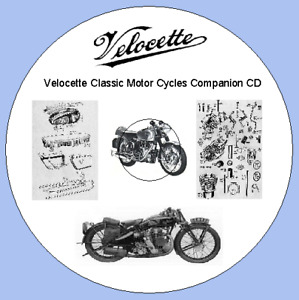 Velocette Classic Motor Cycles Companion CD