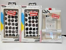 LOT OF 3 iPhone 6/6S/7 Cases Fashion Slim and Protective 654