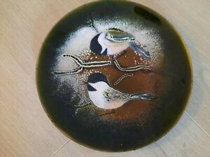Vintage Enamel, Brumm Bird Plate