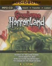Goosebumps HorrorLand Boxed Set #1: Revenge of the Living Dummy, Creep from the