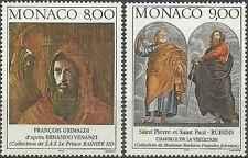 Timbres Arts Tableaux Monaco 2127/8 ** année 1997 lot 10707