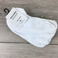 Jack & Jones 4 Pairs Mens No Show Socks  UK 7 - 11 EU 40-45 A361-7