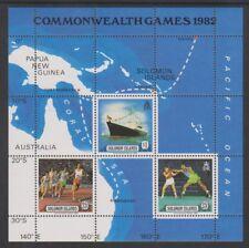 Solomon Islands - 1982, Royal Visit sheet - MNH - SG MS475