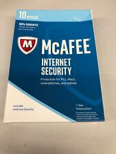 McAfee Internet Security Ultimate Protection for 10 Devices