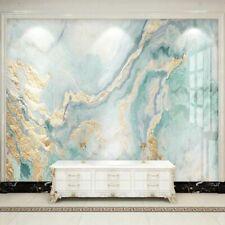 Personalisiert Tapete Wandkunst Modernes Licht Luxus Vergoldete Marmor Muster