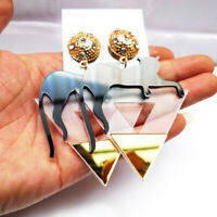 Fashion Women Acrylic Resin Cat Earring Boho Dangle Drop Stud Earring