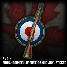 British Lee-Enfield SMLE .303 Army Military War Rifle Vinyl Decal Sticker