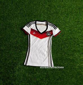 GERMANY NATIONAL TEAM 2014 2015 HOME FOOTBALL SOCCER SHIRT JERSEY WOMEN XS