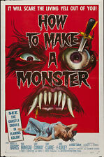 "How to make a Monster Movie Poster Replica 13x19"" Photo Print"