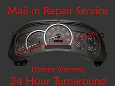 03-06 Cadillac Escalade ESV Instrument Gauge Cluster Dash FULL REPAIR SERVICE