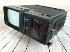 "Vintage Silvertone SR 3000 TV Portable Television Radio AM FM PSB 5"" Monitor"