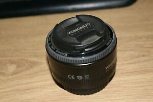 Yongnuo YN 50mm F/1.8 Lens for Canon EF Mount EOS Camera - Used Great Condition