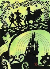 BOTHY THREADS  XFT7  WIZARD OF OZ  Counted  Cross Stitch  Kit
