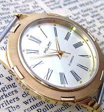 NOS! MINT! POLJOT GOLD ROMAN Vintage 1991 Soviet Russian Mechanical Mens Watch