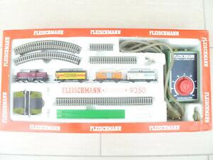 Fleischmann Startset N piccolo 9350 mit V100/BR212-380 und Schotterbettgleis,OVP