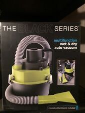 Auto Wet & Dry Vacuum Black Series by Shift. Brand New in Box. 4 - Attachments