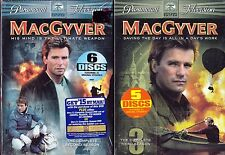 "MacGyver - The Complete Second And Third Season Dvd Brand ""New"""