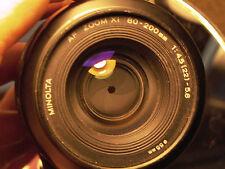 Minolta Maxxum PWRZoom XI 80-200mm F:4.5-5.6 Sony A7 A7r A7rll A6300 A6500 Video