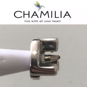 Chamilia Sterling Silver Charm Bead Initial L