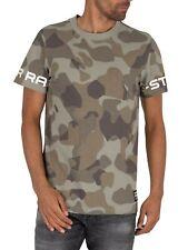 G-Star Men's Camo T-Shirt, Green