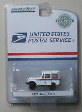 White USPS 1971 Jeep DJ5 HOBBY GREENLIGHT DIECAST 1:64
