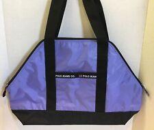 "Ralph Lauren Polo Lavender Nylon Gym Tote Bag 20 1/2"" L x 13 1/2"" H x 6"" D NWOT"