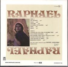 rare POP BALADA CD slip RAPHAEL algo mas... AYUDAME algo mas que un amigo ISRAEL