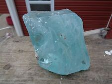 Glass Rock Slag 2.4 lb Cullet Aqua Blue S16 Rocks Landscaping Yard Aquarium