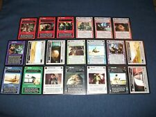 Star Wars CCG Complete Jabba's Palace Sealed Deck Premium Set 20/20