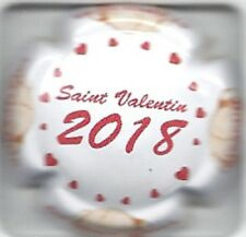 Capsule de champagne DE MILLY Albert  Saint valentin 2018 New