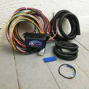 1957 - 58 Ford Fairlane and Fairlane 500 8 Circuit Wire Harness fits painless