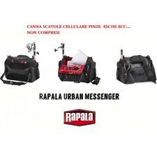 RAPRUMRB Rapala Urban Messenger Bag Borsa SPINNING DA TRACOLLA CON PORTA CANNE